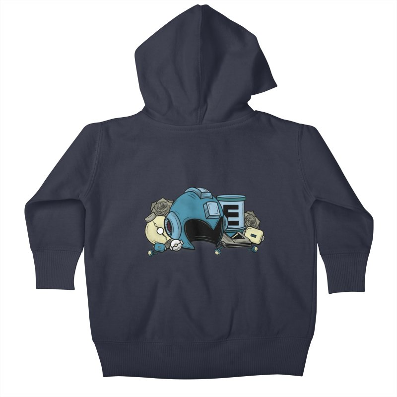 20XX HERO Kids Baby Zip-Up Hoody by UNDEAD MISTER
