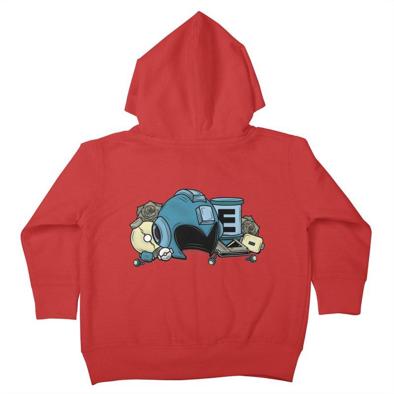 20XX HERO Kids Toddler Zip-Up Hoody by UNDEAD MISTER