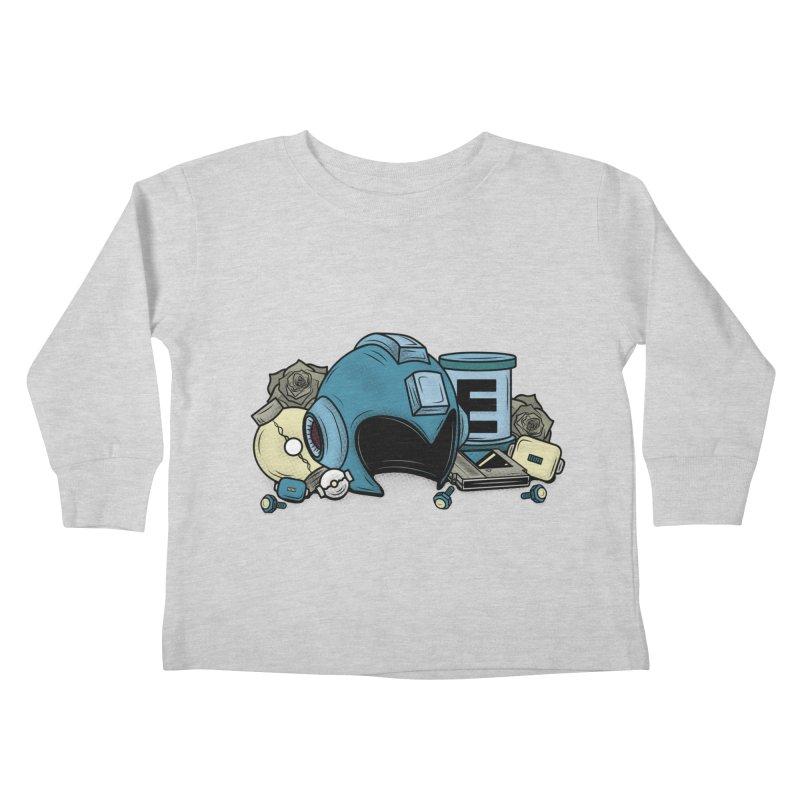 20XX HERO Kids Toddler Longsleeve T-Shirt by UNDEAD MISTER