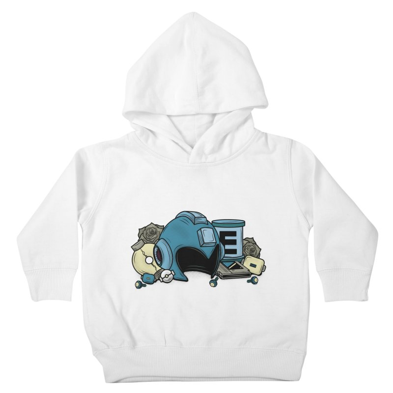 20XX HERO Kids Toddler Pullover Hoody by UNDEAD MISTER