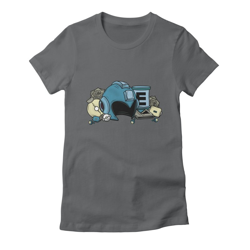 20XX HERO Women's Fitted T-Shirt by UNDEAD MISTER