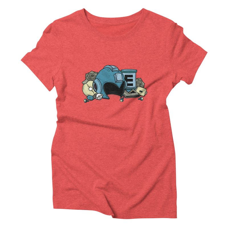 20XX HERO Women's Triblend T-Shirt by UNDEAD MISTER