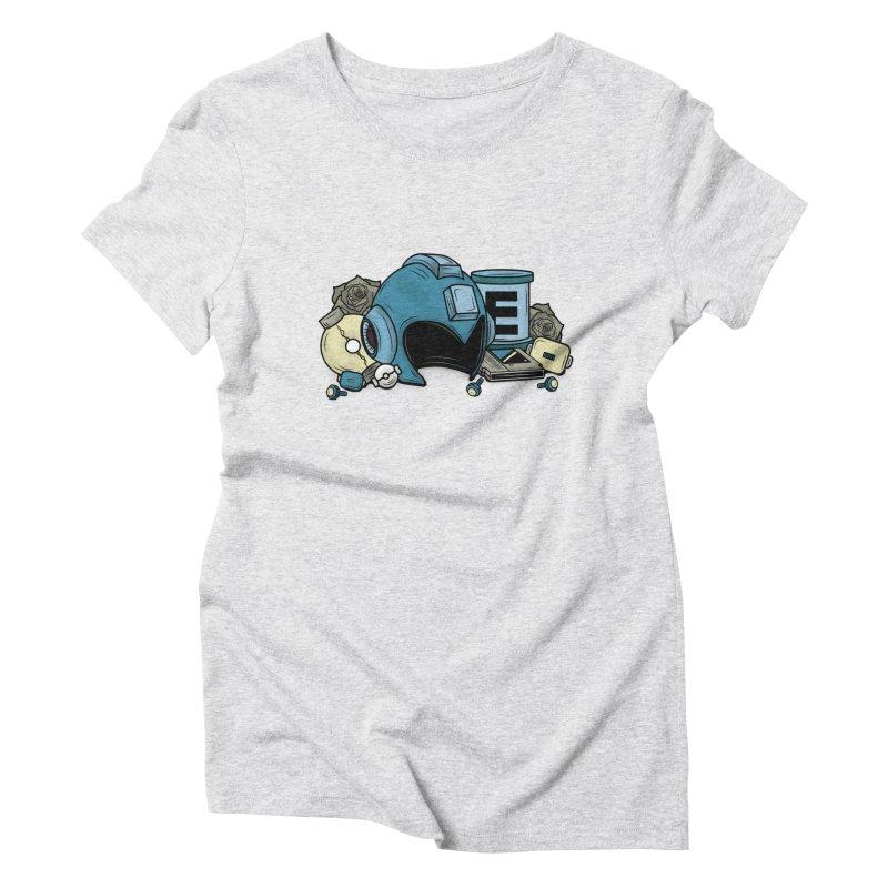 20XX HERO Women's Triblend T-shirt by UNDEAD MISTER