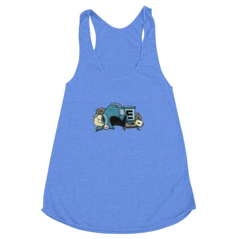 20XX HERO Women's Racerback Triblend Tank by UNDEAD MISTER