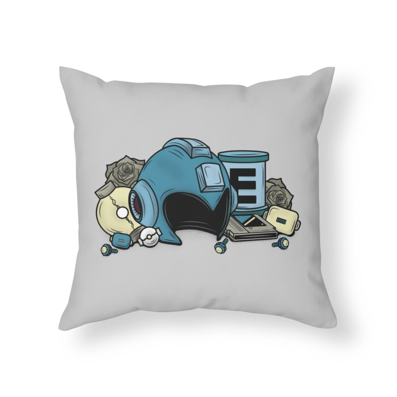 20XX HERO Home Throw Pillow by UNDEAD MISTER