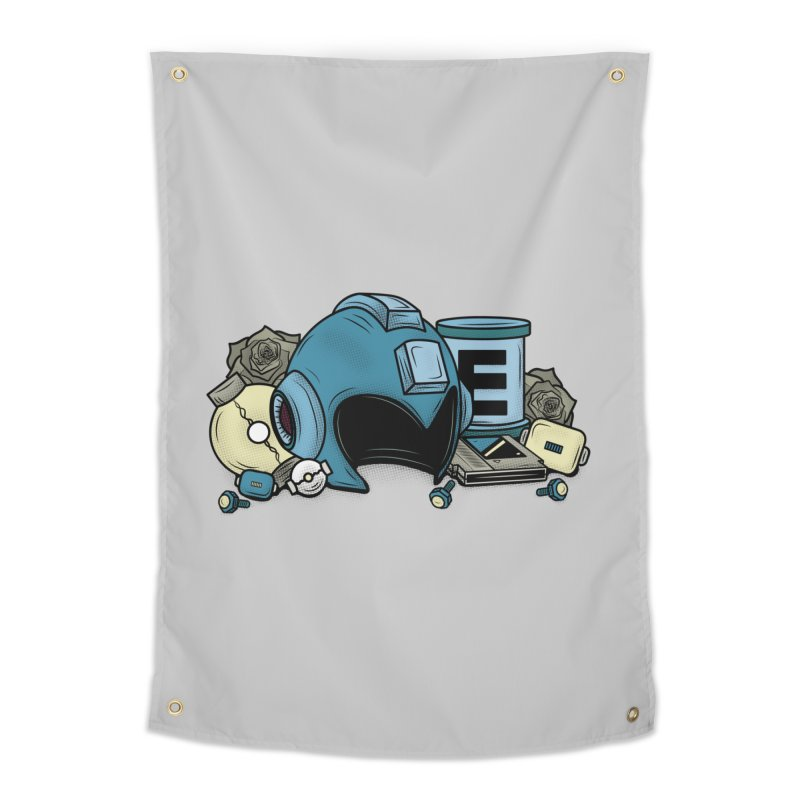 20XX HERO Home Tapestry by UNDEAD MISTER