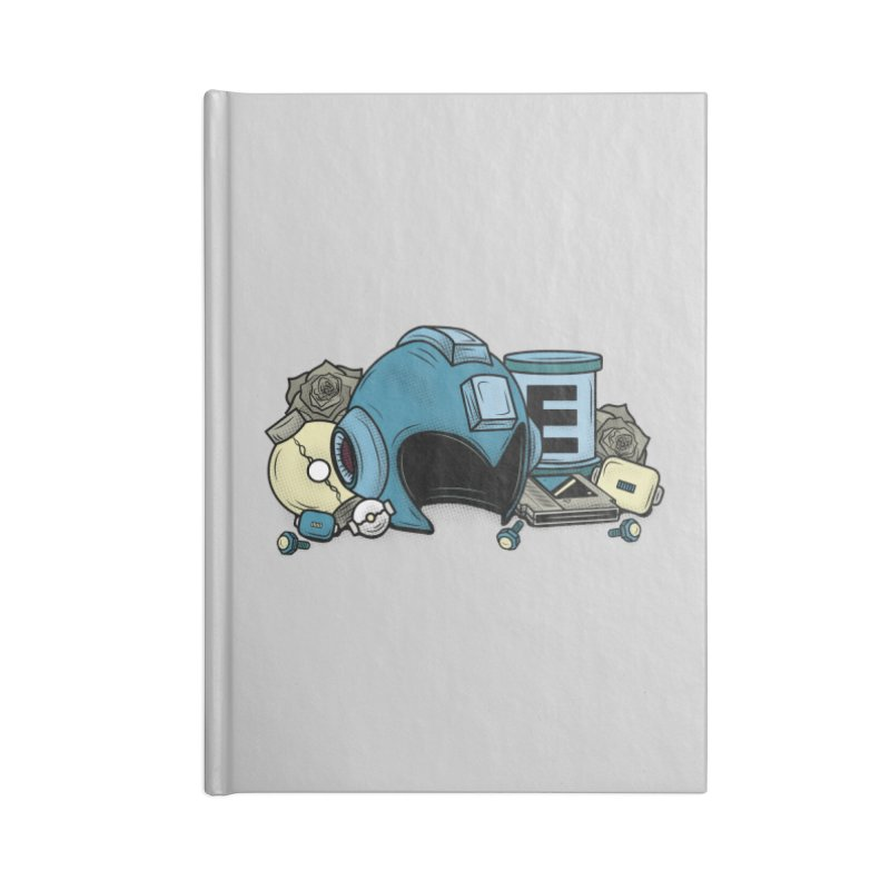 20XX HERO Accessories Notebook by UNDEAD MISTER