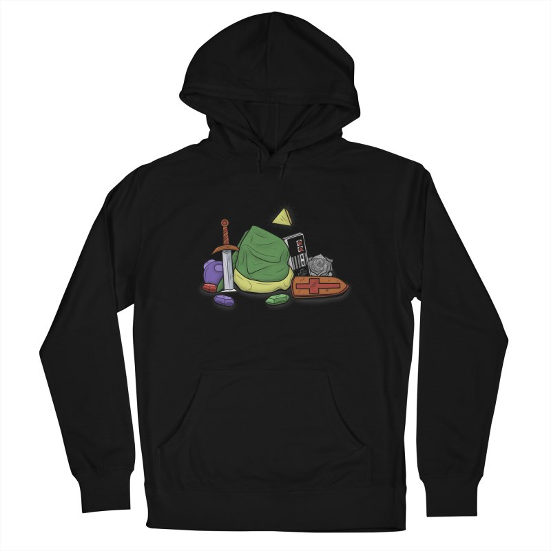 HYRULE LEGEND Men's Pullover Hoody by UNDEAD MISTER