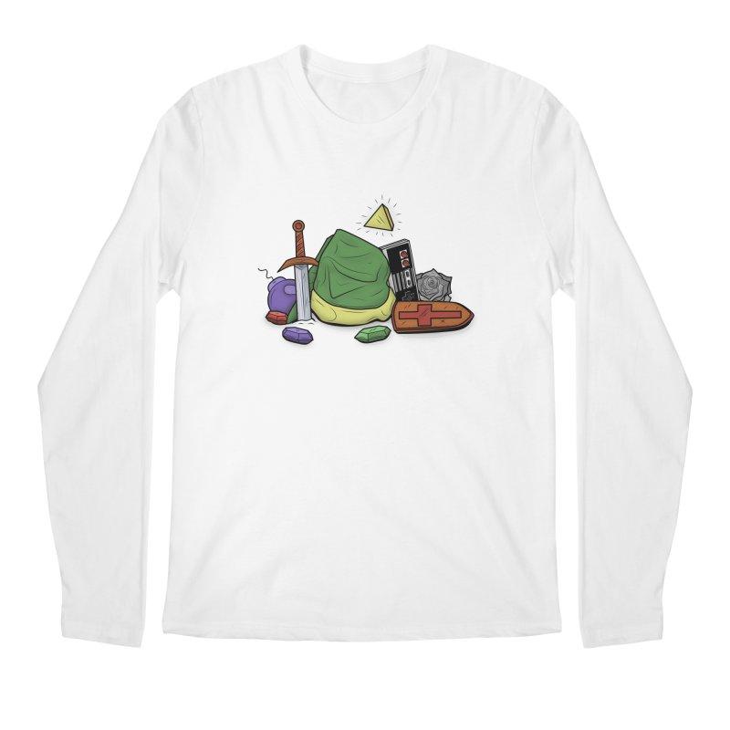 HYRULE LEGEND Men's Longsleeve T-Shirt by UNDEAD MISTER