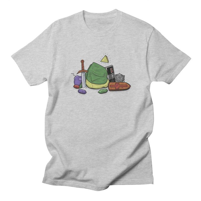 HYRULE LEGEND Men's T-Shirt by UNDEAD MISTER