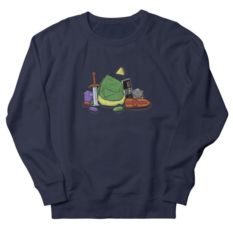 HYRULE LEGEND Women's Sweatshirt by UNDEAD MISTER