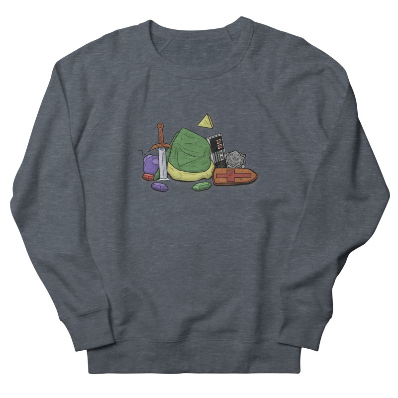 HYRULE LEGEND Men's Sweatshirt by UNDEAD MISTER