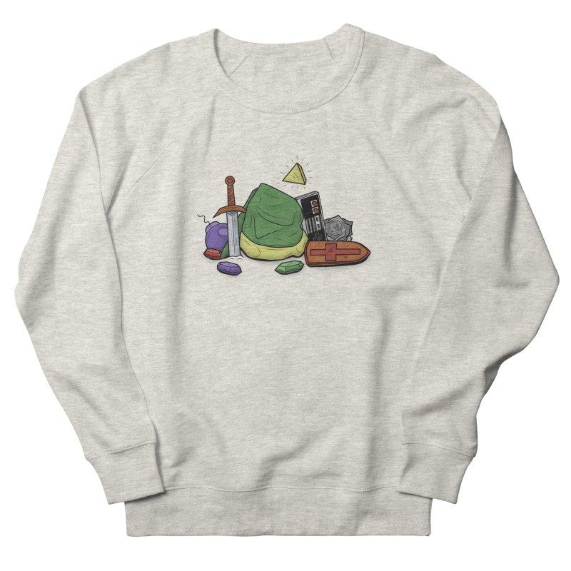 HYRULE LEGEND Men's Sweatshirt by UNDEAD MISTER