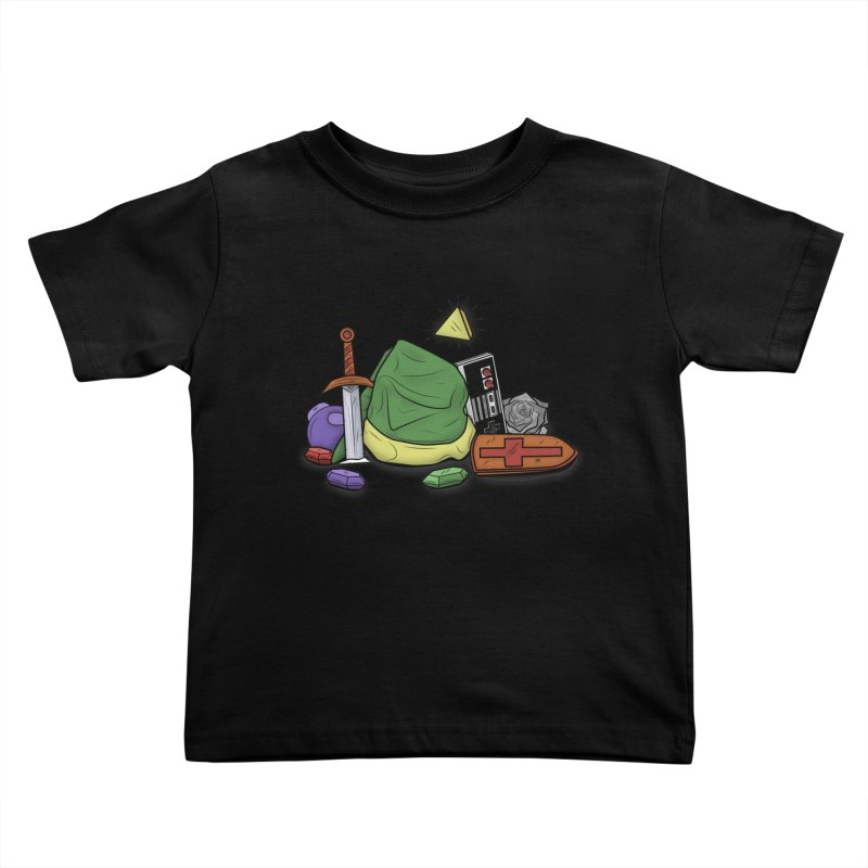 HYRULE LEGEND Kids Toddler T-Shirt by UNDEAD MISTER