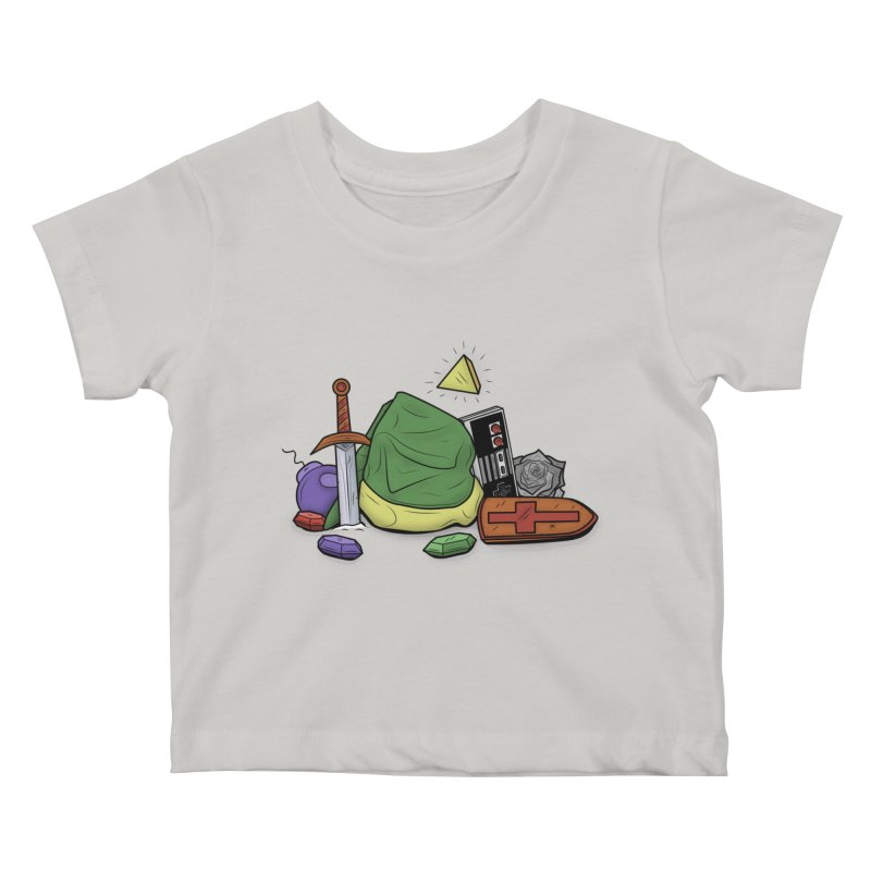 HYRULE LEGEND Kids Baby T-Shirt by UNDEAD MISTER