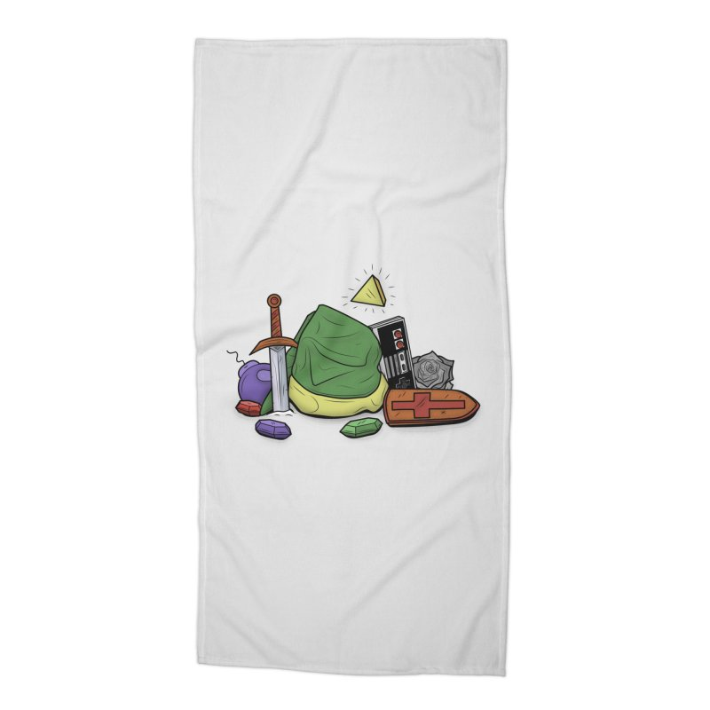 HYRULE LEGEND Accessories Beach Towel by UNDEAD MISTER