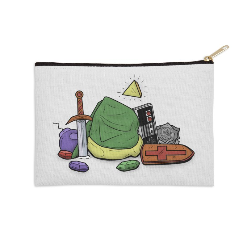 HYRULE LEGEND Accessories Zip Pouch by UNDEAD MISTER
