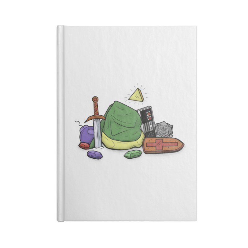 HYRULE LEGEND Accessories Notebook by UNDEAD MISTER