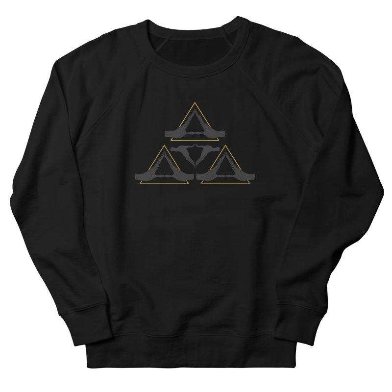 TRIFORCE MONKS Women's Sweatshirt by UNDEAD MISTER