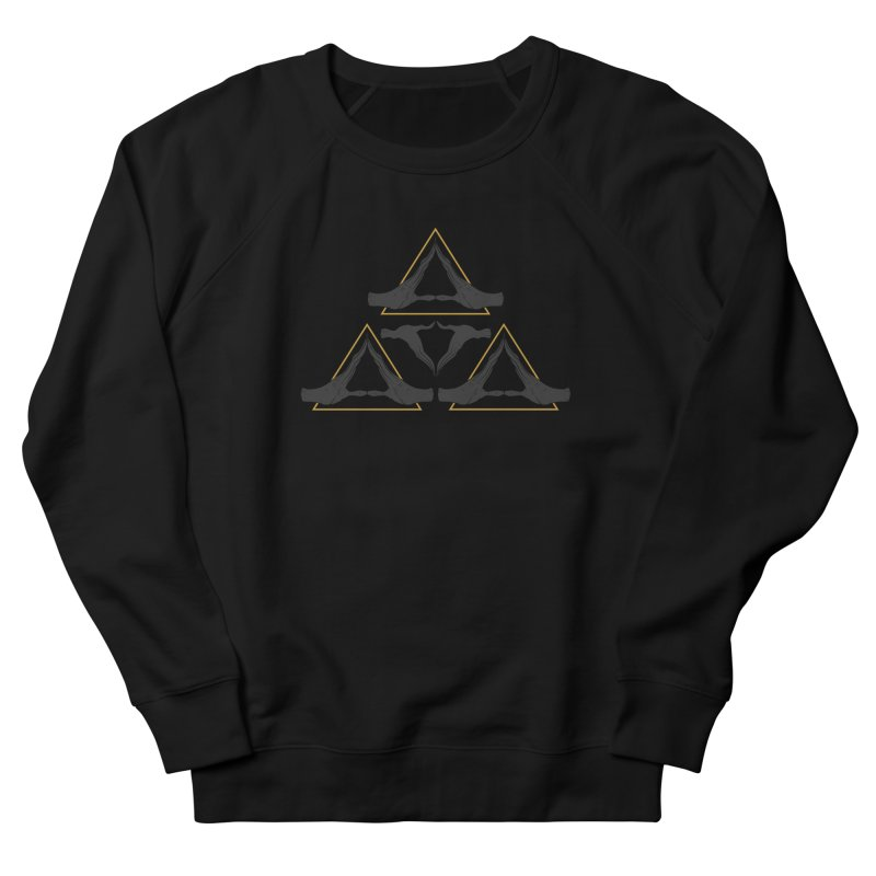 TRIFORCE MONKS Men's Sweatshirt by UNDEAD MISTER