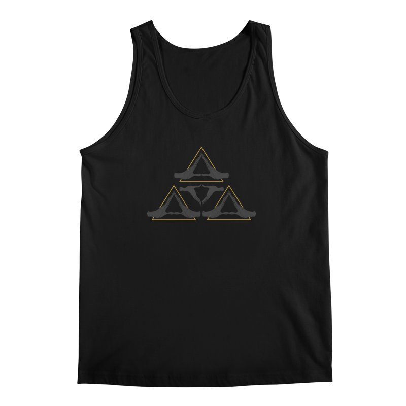 TRIFORCE MONKS Men's Tank by UNDEAD MISTER