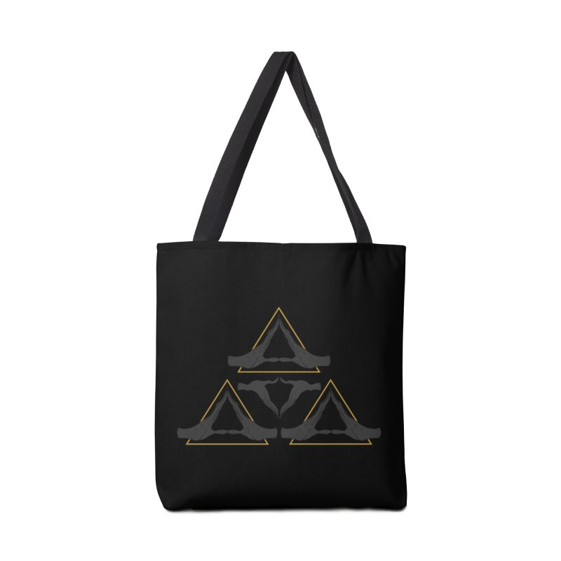 TRIFORCE MONKS Accessories Bag by UNDEAD MISTER