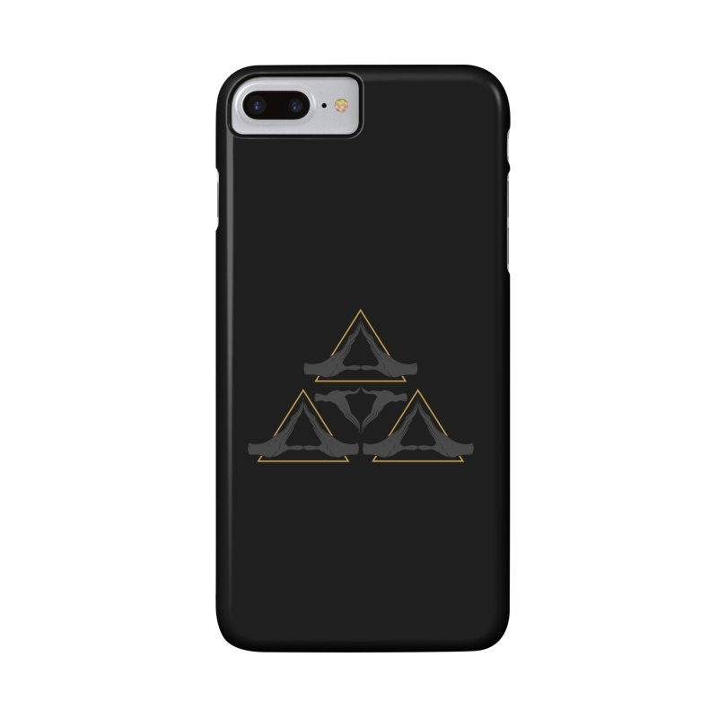 TRIFORCE MONKS Accessories Phone Case by UNDEAD MISTER