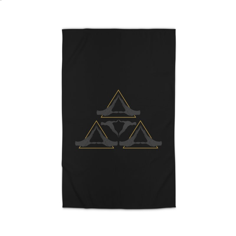 TRIFORCE MONKS Home Rug by UNDEAD MISTER