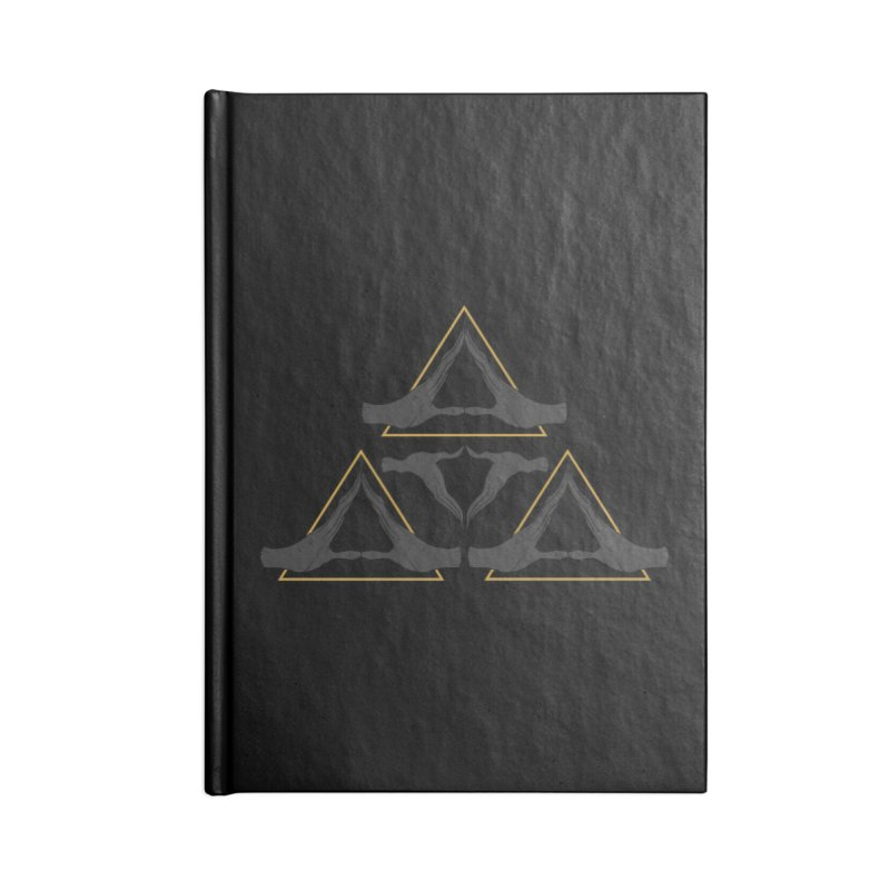 TRIFORCE MONKS Accessories Notebook by UNDEAD MISTER