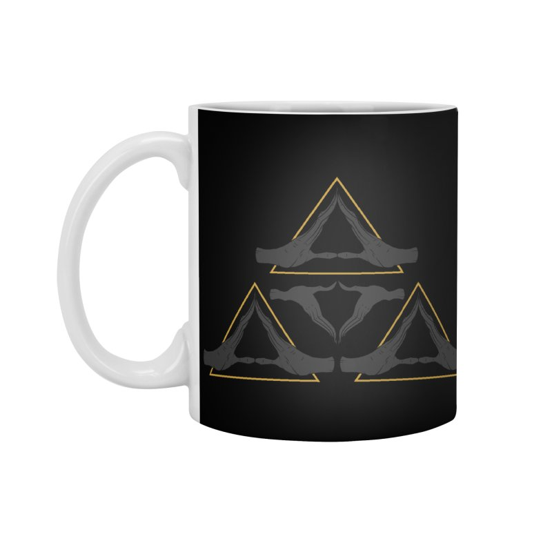 TRIFORCE MONKS Accessories Mug by UNDEAD MISTER