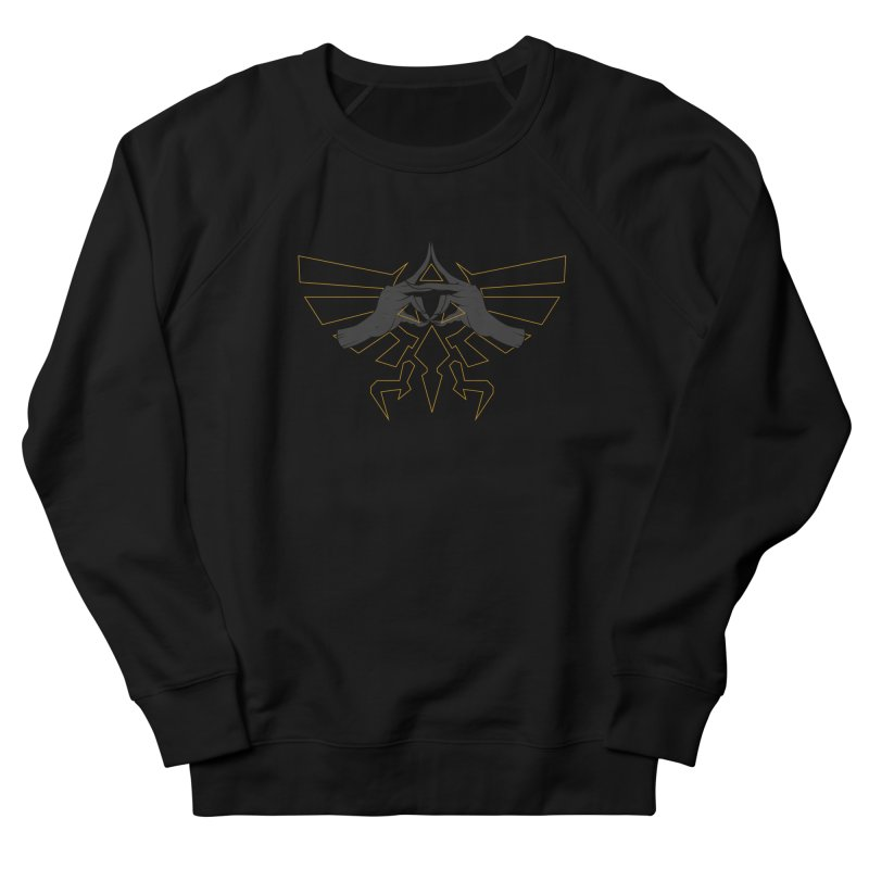 TRIFORCE HANDS Men's Sweatshirt by UNDEAD MISTER
