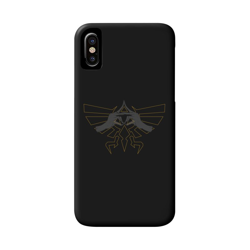 TRIFORCE HANDS Accessories Phone Case by UNDEAD MISTER