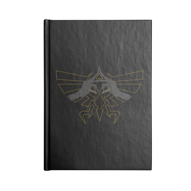 TRIFORCE HANDS Accessories Notebook by UNDEAD MISTER