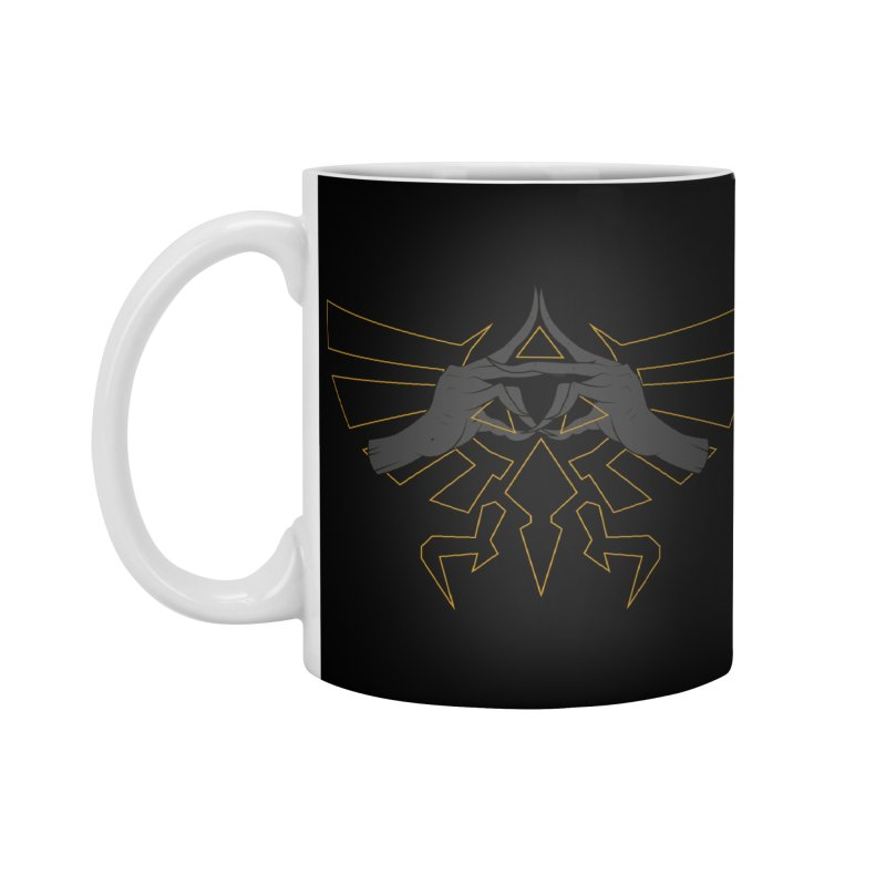 TRIFORCE HANDS Accessories Mug by UNDEAD MISTER
