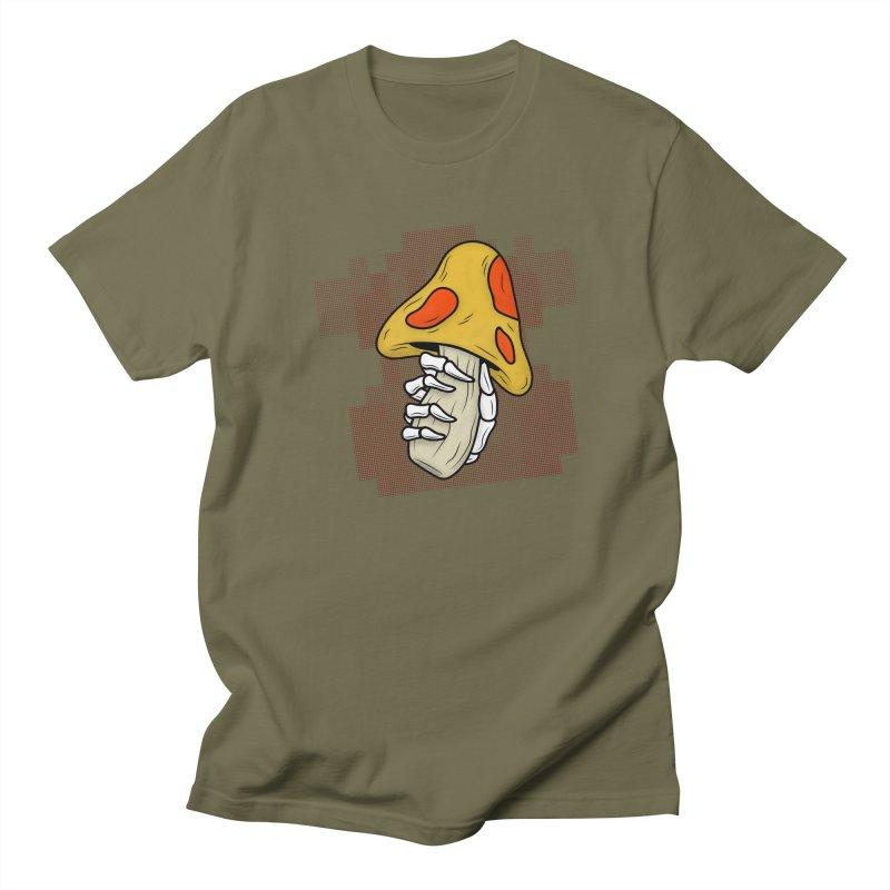 MUSHROOM KINGDOM MAGIC MUSHROOM Men's T-Shirt by UNDEAD MISTER