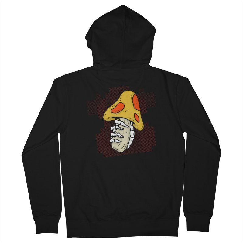 MUSHROOM KINGDOM MAGIC MUSHROOM Men's Zip-Up Hoody by UNDEAD MISTER