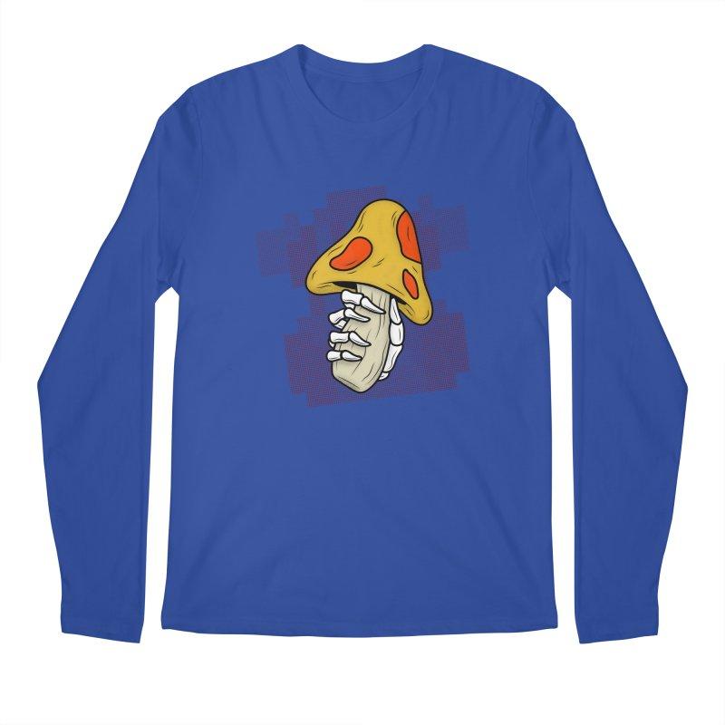 MUSHROOM KINGDOM MAGIC MUSHROOM Men's Longsleeve T-Shirt by UNDEAD MISTER