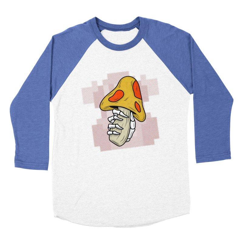 MUSHROOM KINGDOM MAGIC MUSHROOM Women's Baseball Triblend Longsleeve T-Shirt by UNDEAD MISTER
