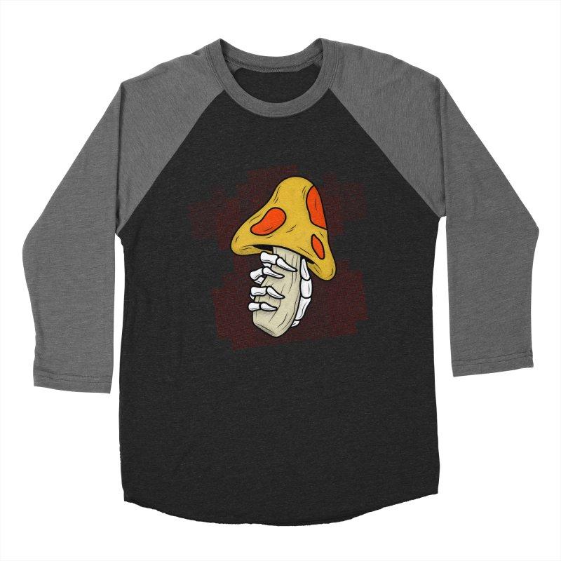 MUSHROOM KINGDOM MAGIC MUSHROOM Women's Baseball Triblend T-Shirt by UNDEAD MISTER