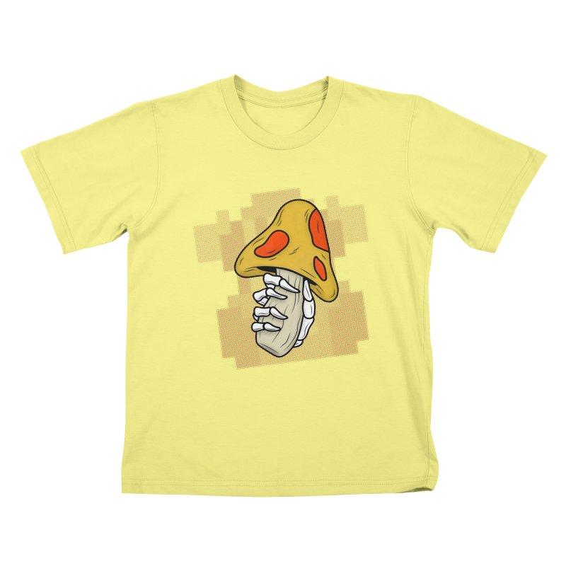MUSHROOM KINGDOM MAGIC MUSHROOM Kids T-shirt by UNDEAD MISTER