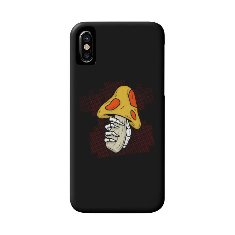 MUSHROOM KINGDOM MAGIC MUSHROOM Accessories Phone Case by UNDEAD MISTER