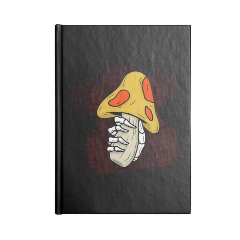 MUSHROOM KINGDOM MAGIC MUSHROOM Accessories Notebook by UNDEAD MISTER