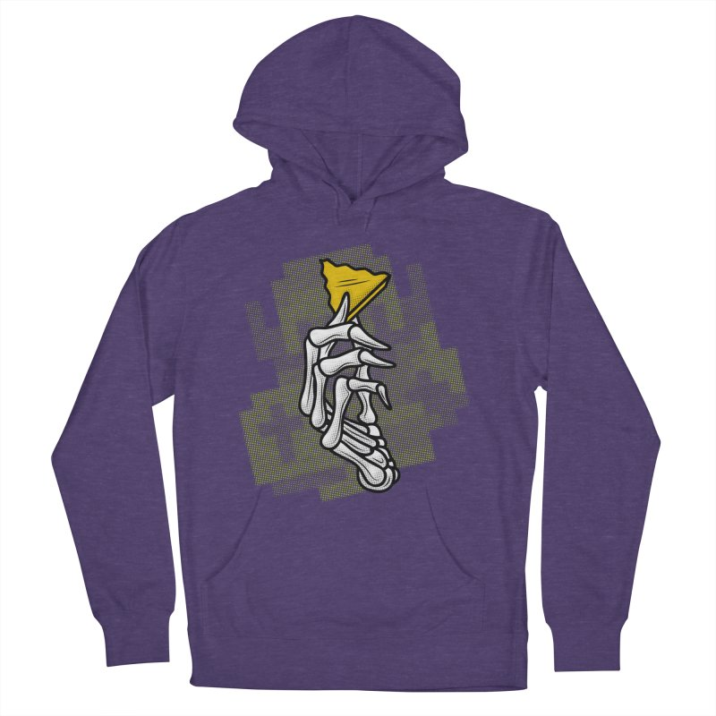 HYRULE VALUES TRIFORCE PART Men's French Terry Pullover Hoody by UNDEAD MISTER
