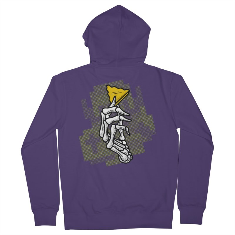 HYRULE VALUES TRIFORCE PART Women's French Terry Zip-Up Hoody by UNDEAD MISTER