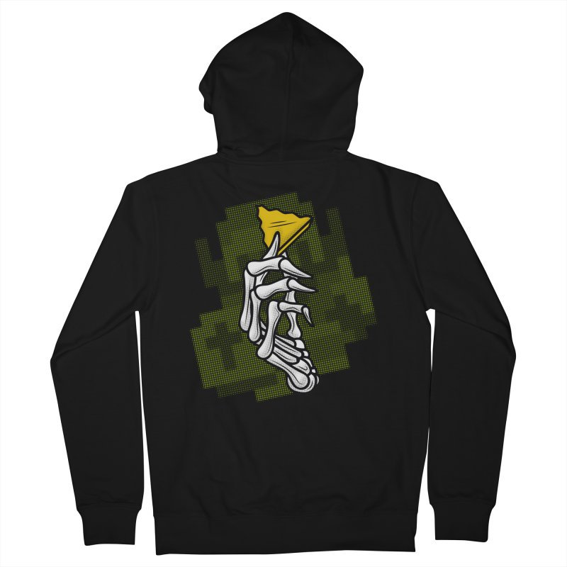 HYRULE VALUES TRIFORCE PART Women's Zip-Up Hoody by UNDEAD MISTER