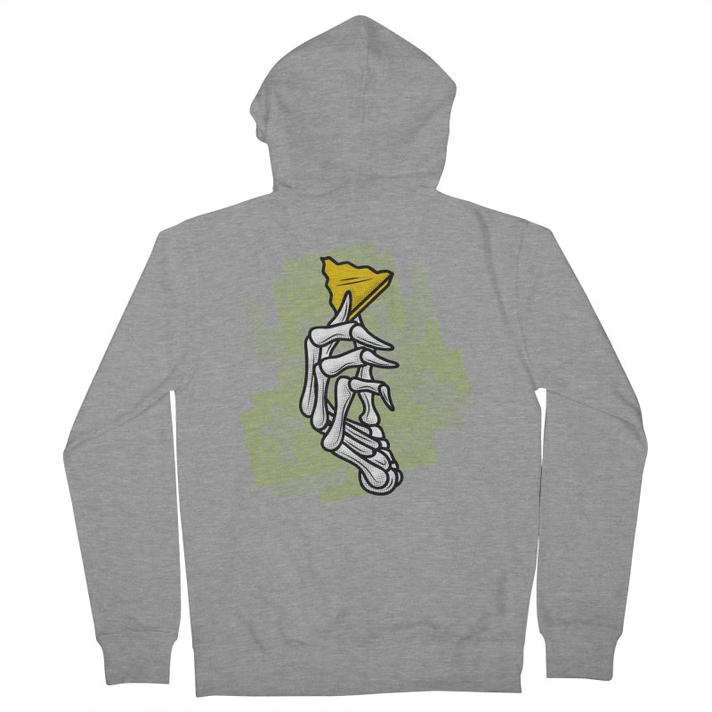 HYRULE VALUES TRIFORCE PART Men's Zip-Up Hoody by UNDEAD MISTER