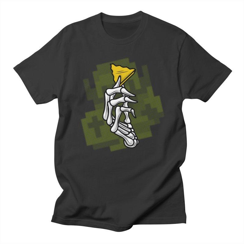HYRULE VALUES TRIFORCE PART Men's T-shirt by UNDEAD MISTER