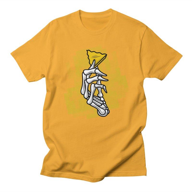 HYRULE VALUES TRIFORCE PART Men's Regular T-Shirt by UNDEAD MISTER