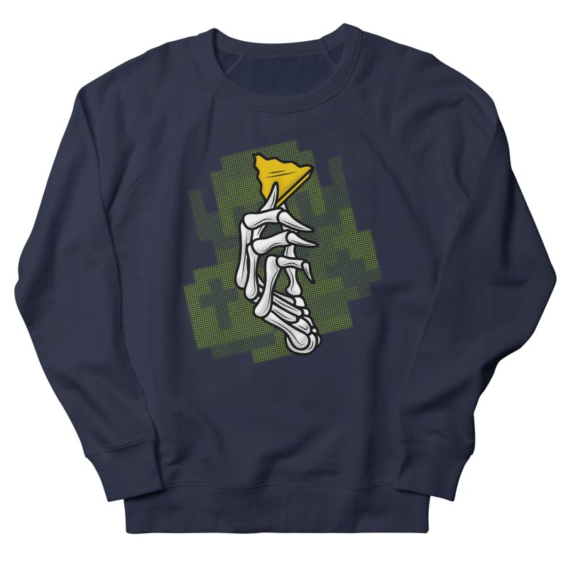 HYRULE VALUES TRIFORCE PART Women's French Terry Sweatshirt by UNDEAD MISTER