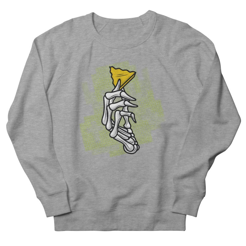 HYRULE VALUES TRIFORCE PART Men's French Terry Sweatshirt by UNDEAD MISTER